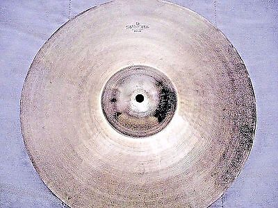 "VINTAGE Old 1950s 15"" PAISTE STANOPLE Thin CRASH Cymbal *Ex Cnd 756g **WORLDSHIP"