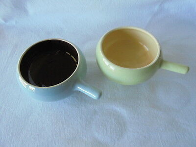 A Pair of Collectable Vintage Martin Boyd Ramekin Bowls Signed Retro