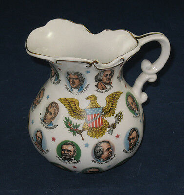 Chadwick Miller Commemorative Presidents Pitcher, 1965