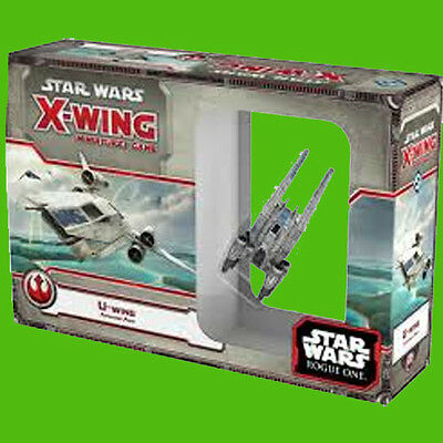 No Upgrade Cards Star Wars X-Wing Miniatures U-Wing!