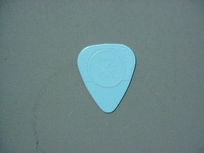 The Cult guitar pick for Billy Duffy 2011 light blue Herco pick