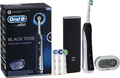 Brand New Sealed Oral B 7000 Black Electric Toothbrush