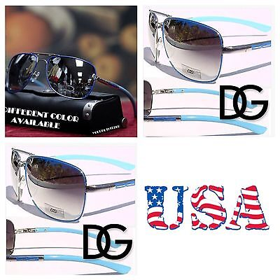 DG Eyewear Men Women  Aviators Mirrored Fashion Sports Sunglasses Royal Blue