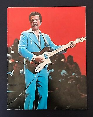 1970's Conway Twitty Concert Program Book (Country Music)