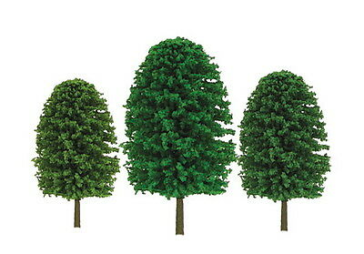 "JTT SCENERY 92033 SUPER SCENIC EVERGREEN TREES 1"" to 2""  Z-SCALE 55/PK  JTT92033"