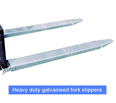 Galvanized Forklift Tyne Extension Slippers 2400mm Negotiable $499+GST