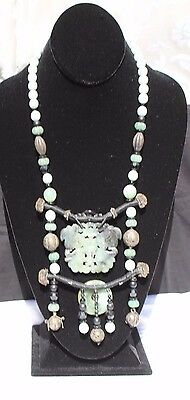 Necklace Butterfly Jade