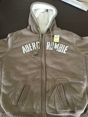 Abercrombie & Fitch Women's Woollen Hoodie - Aberc Rombie. Brand new with tags