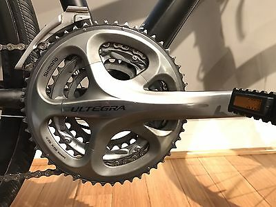 Shimano Ultegra FC-6703 10-Speed Triple 30/39/52 175mm Dura-Ace BB-9000 btm brkt