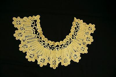 Vtg. Victorian Hand-Made Lace Collar