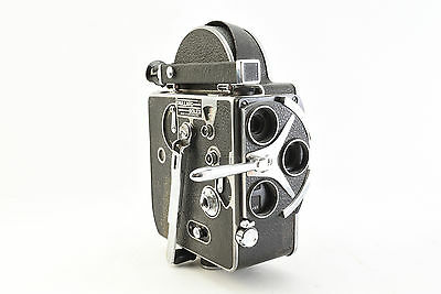 Vintage Bolex 16mm Film Camera Body H16 w/ Crank TESTED/WORKS! (V4350)