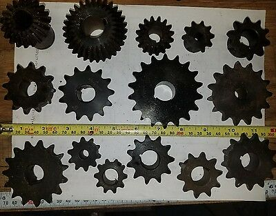 Lot of 15 Misc Assorted Sprockets New