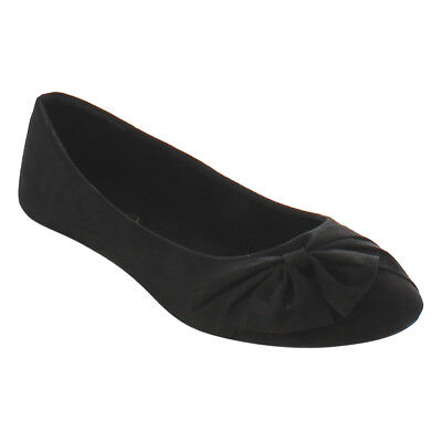 Women's Summer Shoes Bow Slip On Slim Heel Ballet Flats
