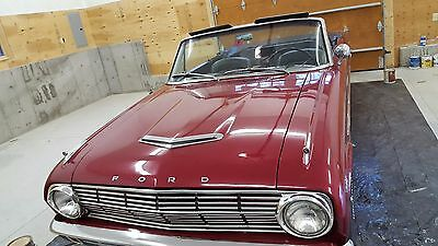 1963 Ford Falcon CONVERTIBLE ford falcon futura 260 v8 4sp convertible