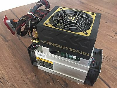 Antminer S7 - Bitcoin ASIC Miner Bitmain - With Power Supply