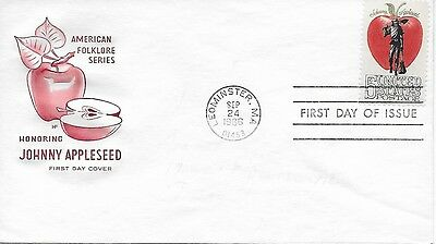 Scott #1317 - Johnny Appleseed FDC