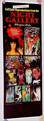 vintage 70's NIGHT GALLERY AD POSTER