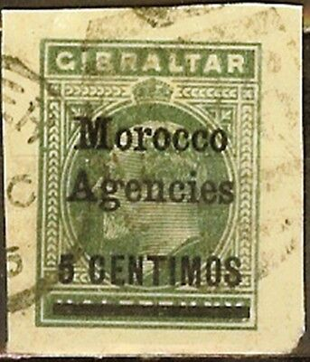 Great Britain,Offices in Marocco,Fresh!,Used,XF