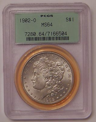 1902-O PCGS MS64 Silver Morgan Dollar 90% Silver $1 Old US Coin Uncirculated