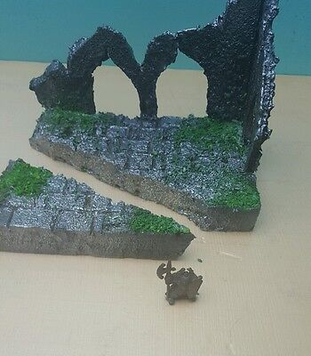 Warhammer Miniature Role Playing Game Model Scene Scenery Terrain