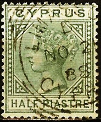Cyprus,Sc#11,Fresh,Used,VF