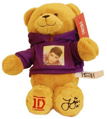 One Direction 9-in Collectible Bear - Zayn - Purple - 1D