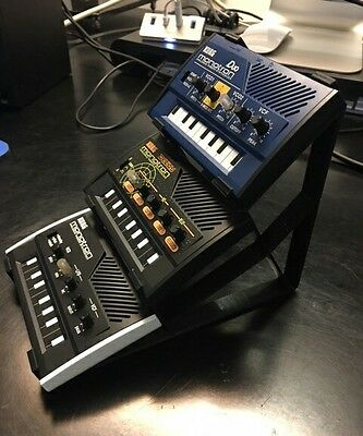 Triple Tier Stands For The Monotron Synthesizers by Korg Duo Delay