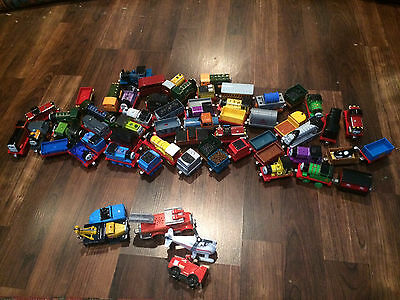 HUGE thomas take n play lot  61 PIECE  W/ Harvey Hector Spencer Molly  more LOT