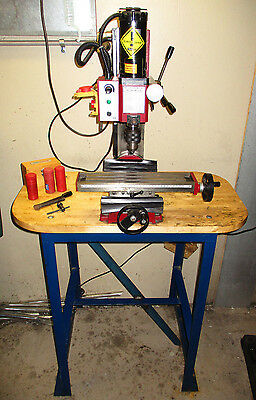 Vertical Mill Drilling Machine (with stand) - dual speed & variable speed motor