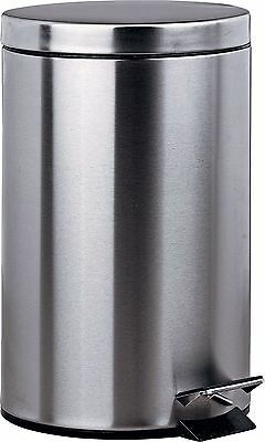 HOME 12 Litre Pedal Kitchen Bin - Silver. From the Official Argos Shop on ebay