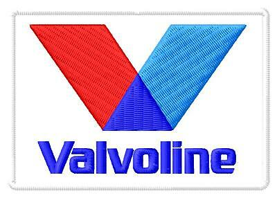Valvoline ecusson brodé patche Thermocollant iron-on patch