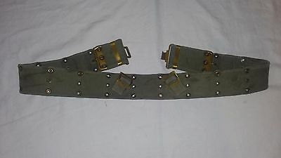 Post WW2 WWII Canadian Pattern 51 Webbing Belt