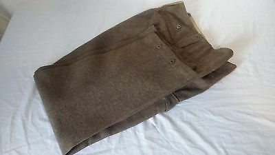 WW2 WWII Canadian Battle Dress Trousers 1940