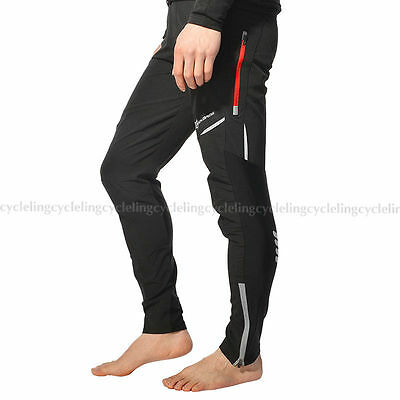 RockBros Bike Cycling Pants Bicycle Tights Sport Trousers Long Black Size 2XL