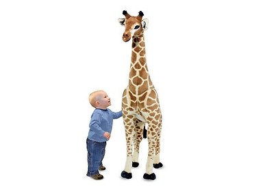 Melissa Doug Giant Giraffe Stuffed Animal Giant Large Tall Cute Jumbo Cool Kids