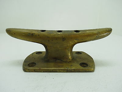 7 Inch Bronze Cleat Ship Sail Boat Dock Brass (#1917)