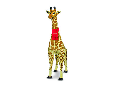 Kids Giant Giraffe Stuffed Animal Giant Large Tall Jumbo Cute PERSONALIZED NAME