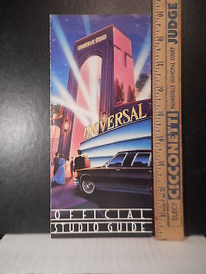 Universal Studios Florida Official Guide Brochure  621TB.
