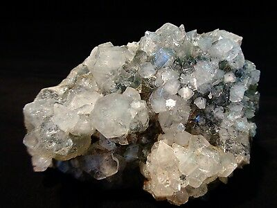 Apophyllite Crystal Bunch On Chalcedony   #t-1