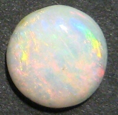 Australian Coober Pedy multicolour solid Opal, 6mm round