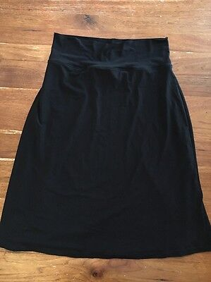 Pea In A Pod Maternity Black Skirt