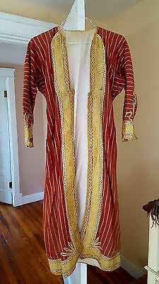 Antique Ottoman Robe Asian 19th century Size M