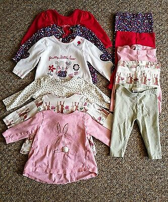 baby girl 3-6 months top and leggings bundle