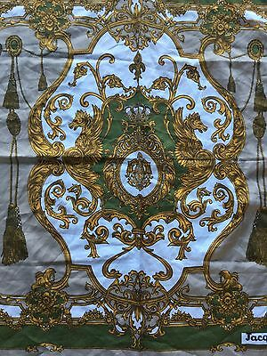 """Vintage Scarf By """" Jacqmar """". 31"""" By 31"""""""