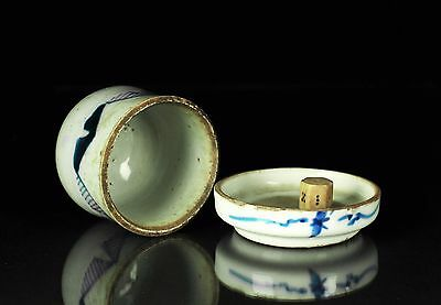 FINE QUALITY ANTIQUE DICE CUP WITH WHITE Porcelain 骰子 Qing Dynasty Lot#137
