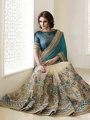 New Designer Sari Indian Saree Ethnic Bollywood Pakistani Wedding Party Wear 471