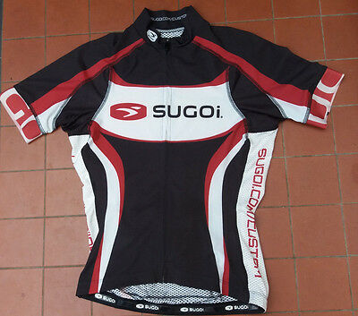 Sugoi Bike Cycling Short Sleeve Jersey Top Size S
