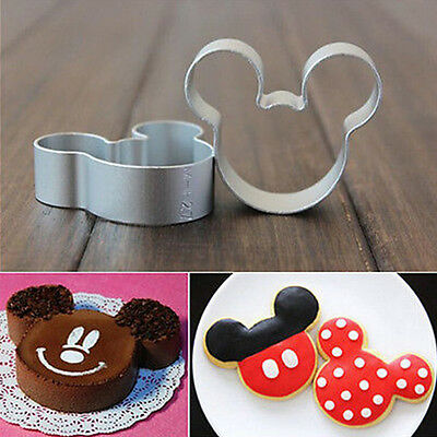 Cute Metal Mouse Shaped Cookie Pastry Dessert Cake Cutter Baking Mould Mold