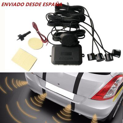 Smart Sensores Aparcamiento Kit 4 Sensor Radar Con Sonido Pantalla Led Parking
