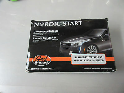 Nordic Start One-Way Remote Car Starter & Bypass NS1000CA